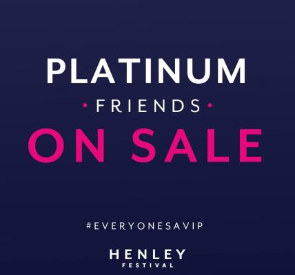 Tickets on sale now for Platinum Friends!...