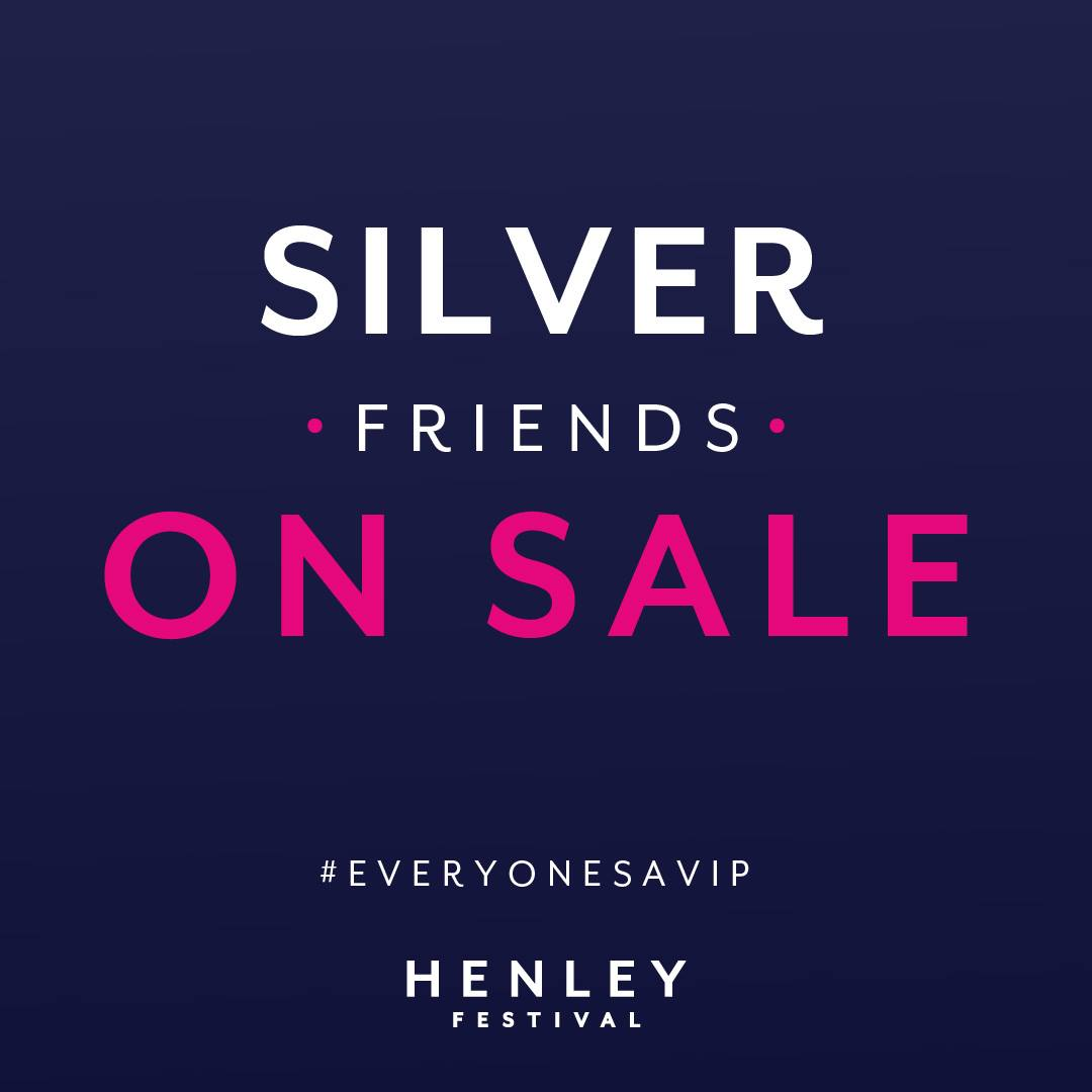 Tickets on sale now for Silver Friends!...