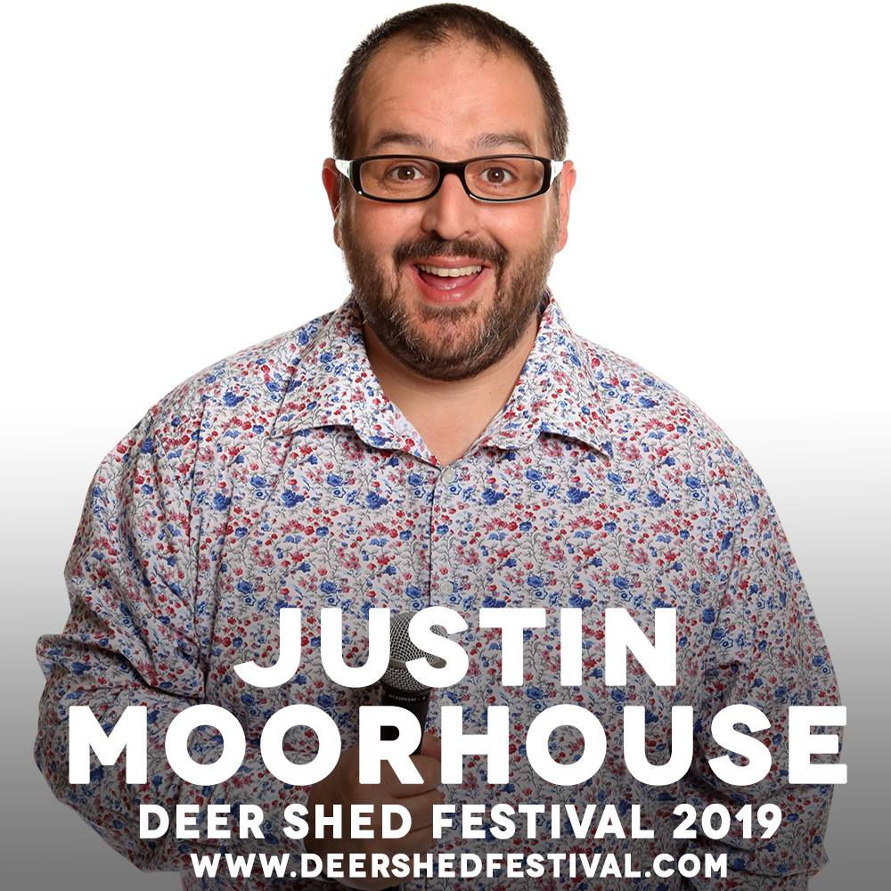 Justin Moorhouse, our favourite northern funny man and one of the best MCs we&#0...