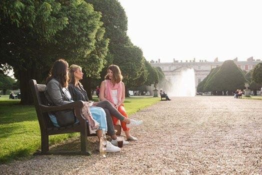 Mid-summer evenings at the Palace are memory makers.  Roll on June......