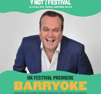 THIS YEAR Y NOT HOSTS THE UK FESTIVAL PREMIERE OF BARRYOKE...