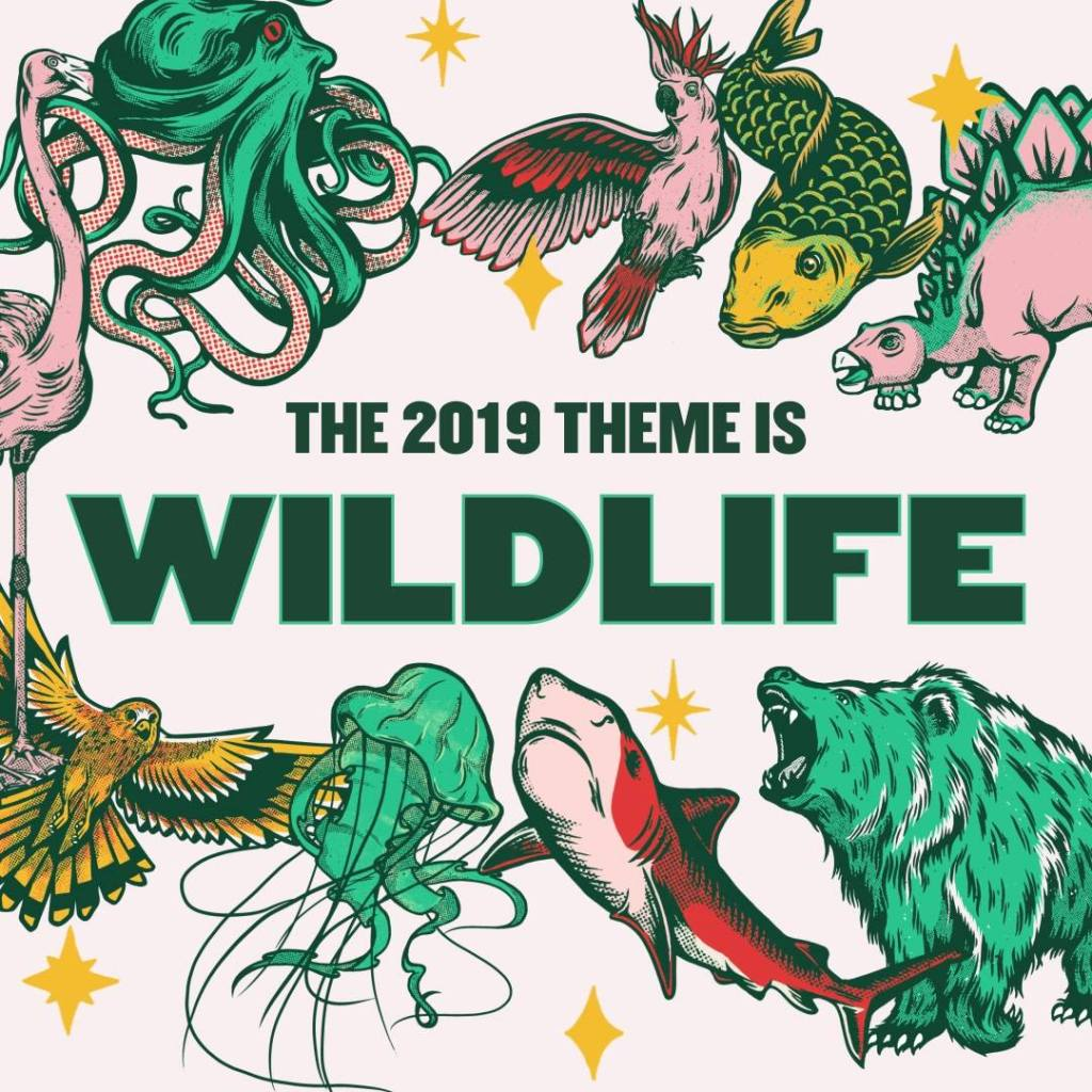 VOTED BY YOU the fancy dress theme for 2019 is:  WILDLIFE...