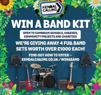 Win A Band Kit!