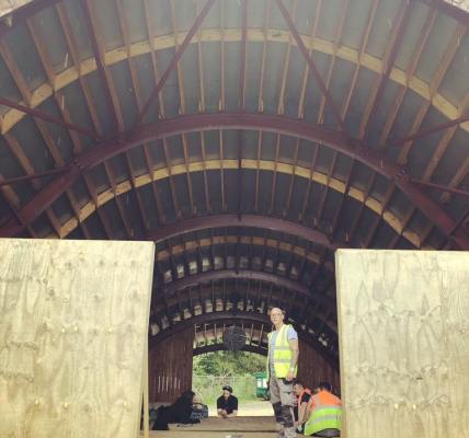 As the wall comes down for another Eden Festival you get to see the acoustics of...