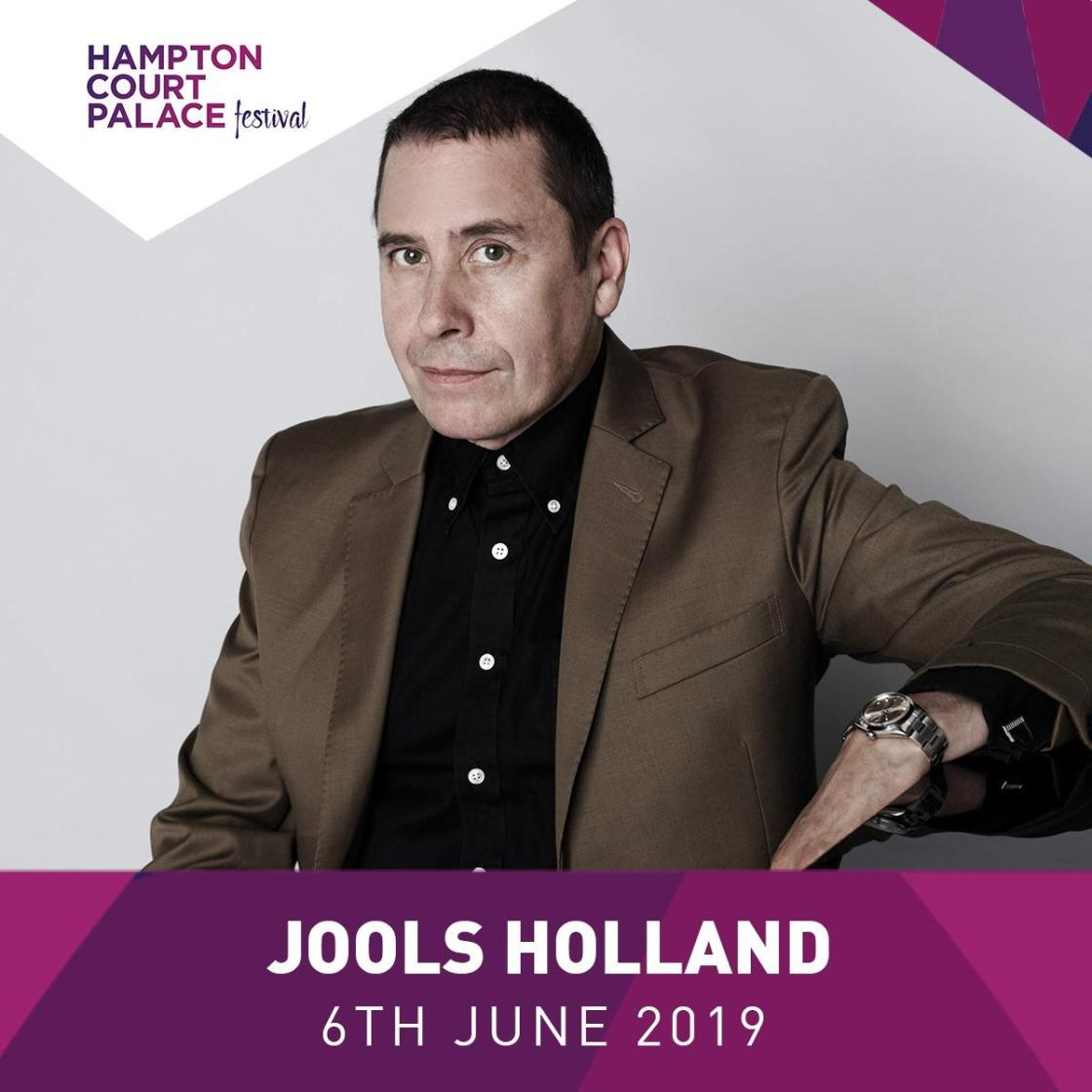 Not long to go now…our first week commences next week! Up first: Jools Holland, ...
