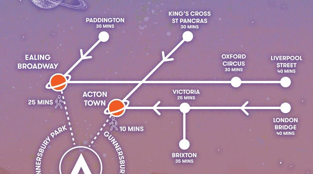 Your journey to #Citadel19 starts here  Find your fastest route to Gunnersbury P...