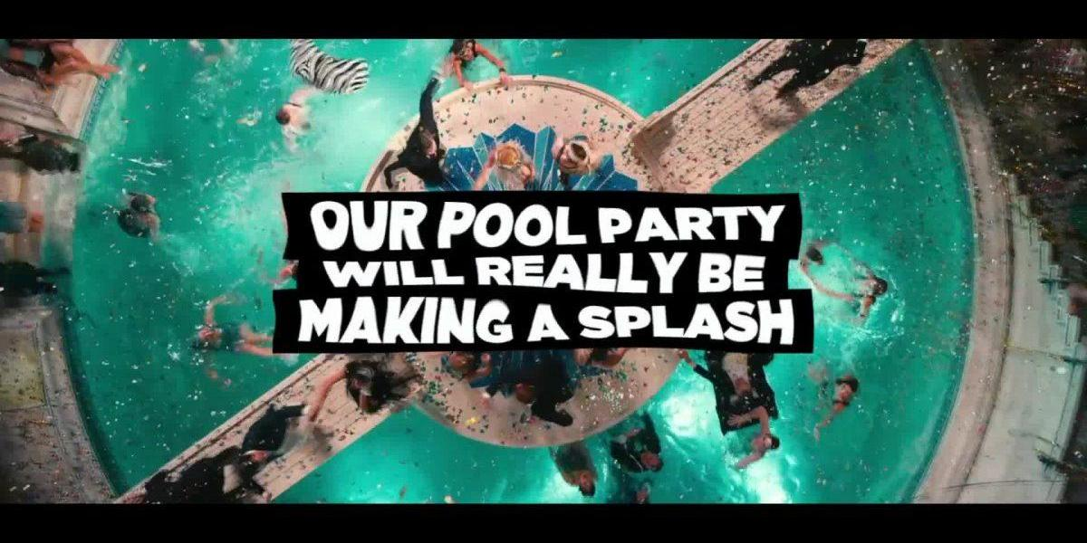 Pool Party At EE