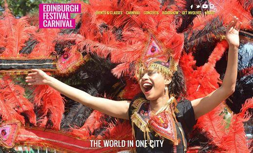 Hooray! #EJBF19's Edinburgh Festival Carnival - The World in One City website is...