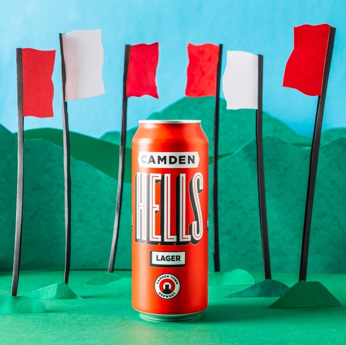 BEER (but bigger)  Launching this weekend at #FieldDayLondon, Camden Town Brewer...