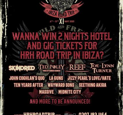 FANCY WINNING 2 NIGHTS IN IBIZA FOR HRH ROAD TRIP CYCLE 11?...