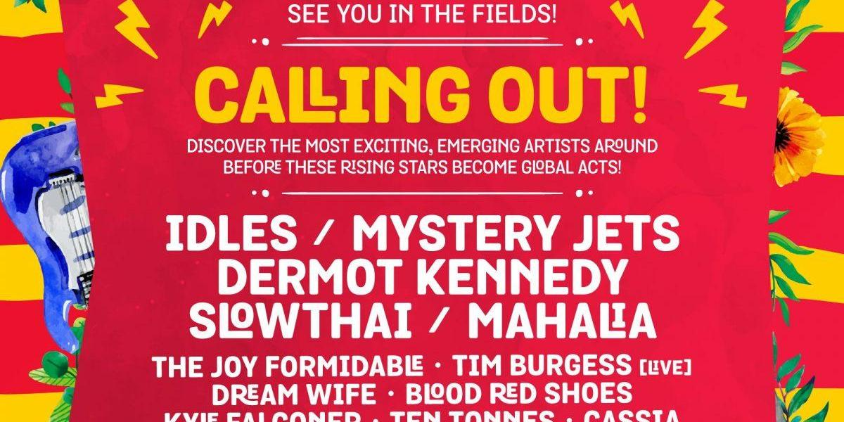 See you down the front in Calling Out next month with IDLES, Mystery Jets Offici...