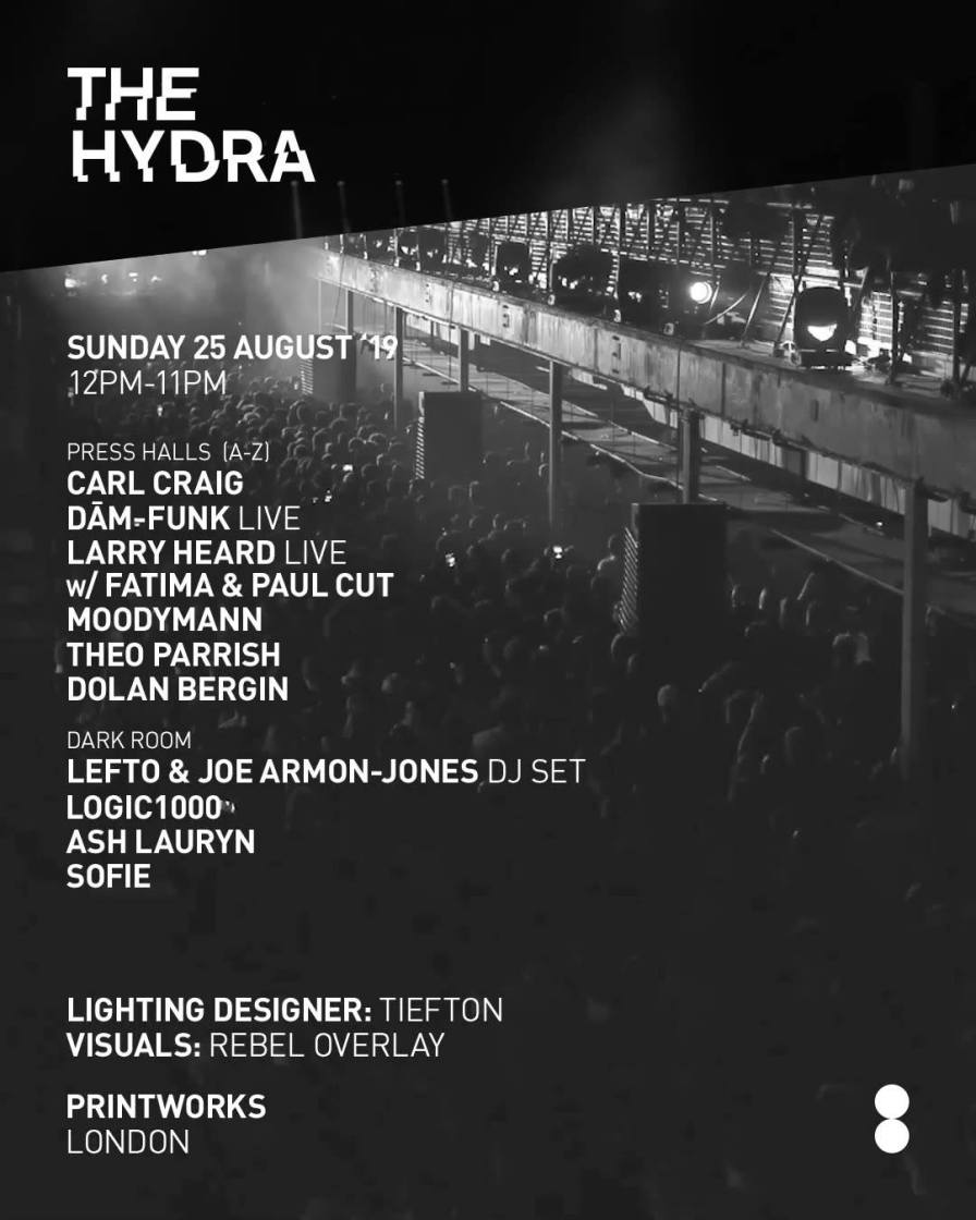 Field Day friends The Hydra have just announced one of the most exciting, versat...