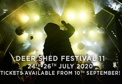 24th-26th July 2020 #DEERSHED11 Best value tickets available from 10th September...