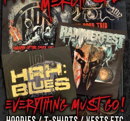 HRH Retro clothing stock including tee-shirts, hoodies, baseball shirts and more...