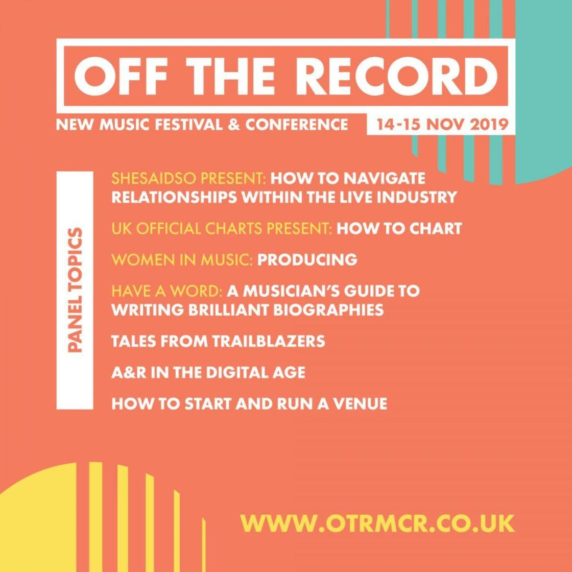 Off The Record returns!