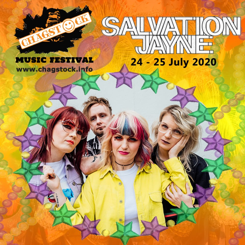 And the line up keeps building.... Salvation Jayne exploded onto the scene in 20...