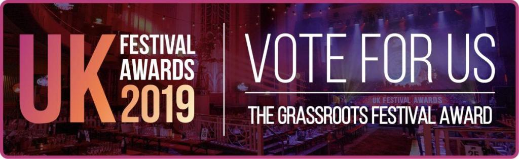 We are nominated in the UK Festival Awards in two categories - Best Small Festiv...