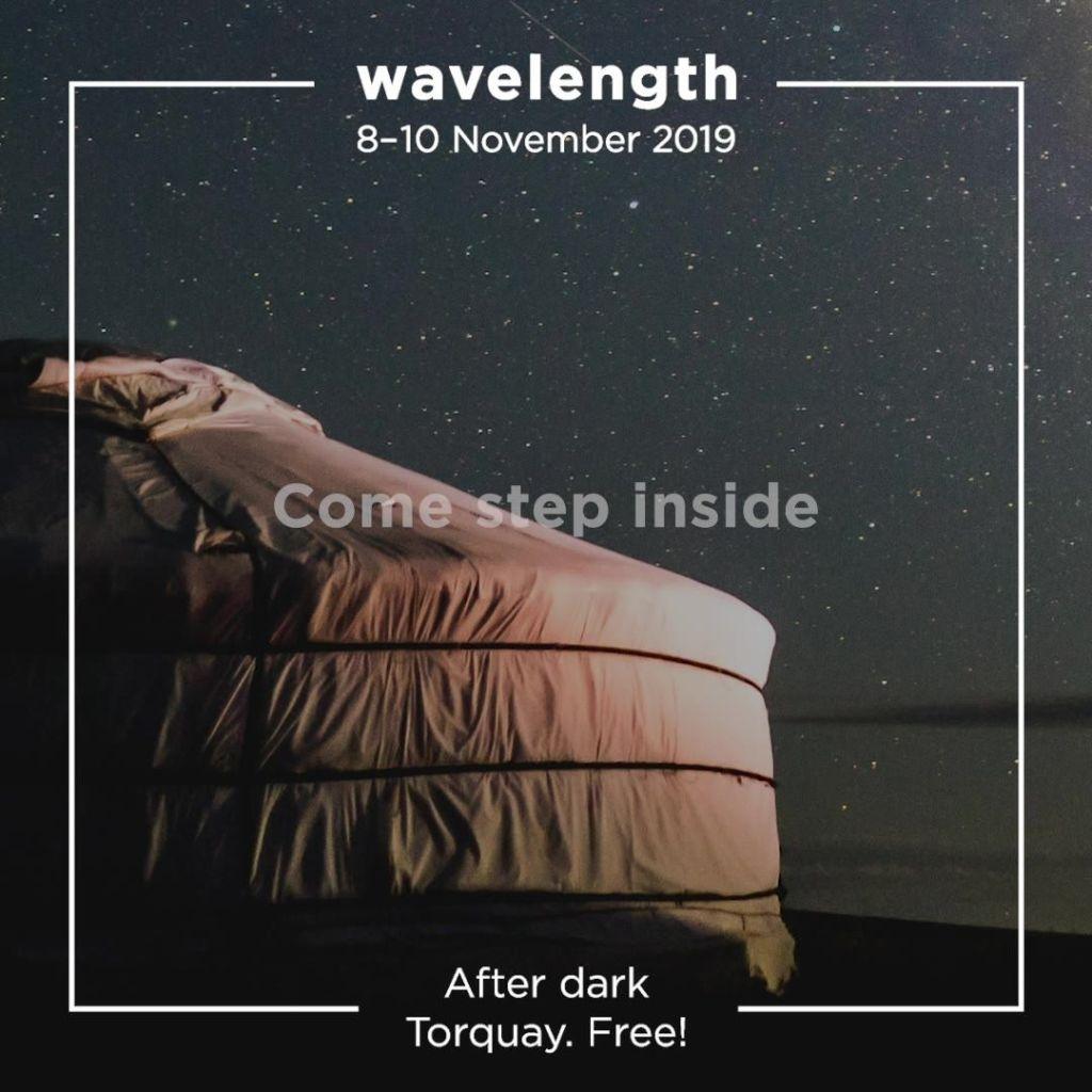 Starting this Friday Wavelength by Eyeview, three nights of illumination, sound,...