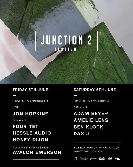 Junction 2 Festival 2020 - Acts announced so far:...