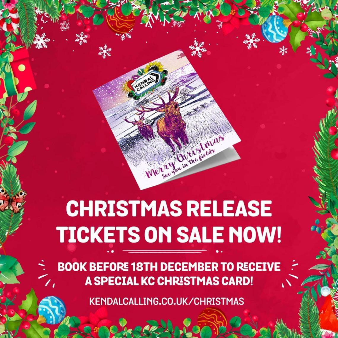 Give the gift of Kendal Calling this festive season with our special Christmas R...