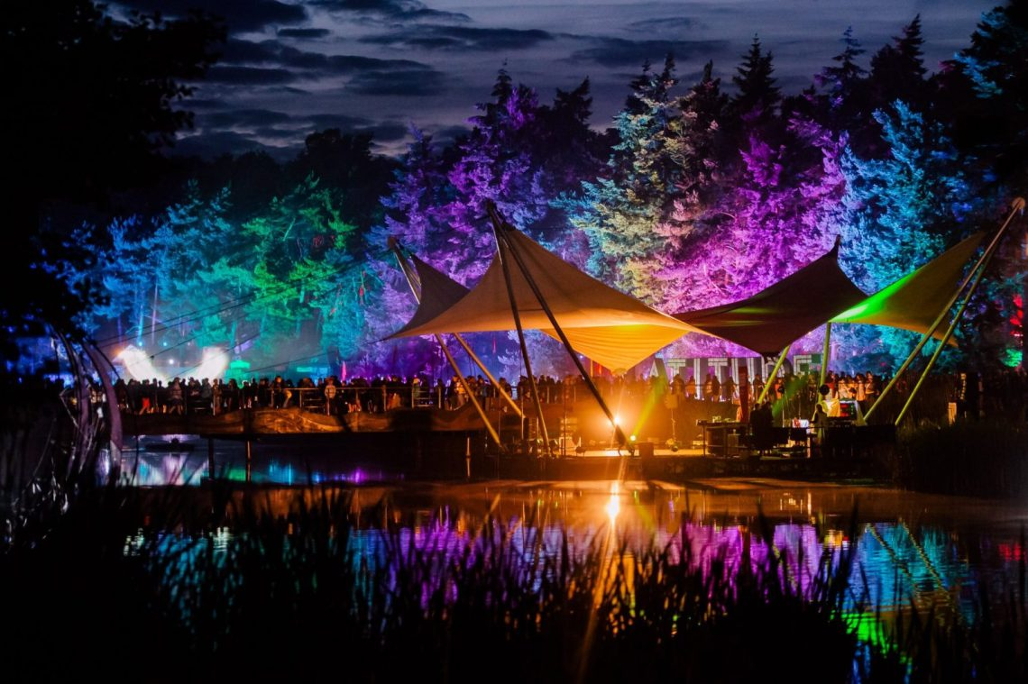 When the sun goes down at Latitude, the fun is only just getting started - here ...