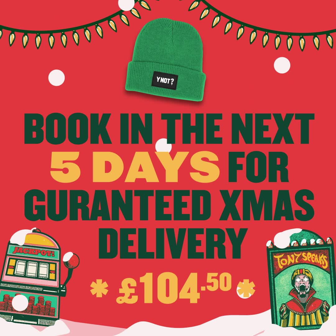 Book This Week For Xmas Delivery