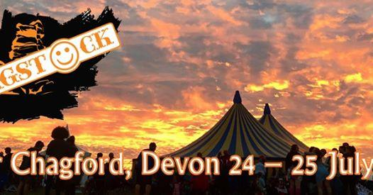 """Chagstock Festival added a """"Shop Now"""" button to their Page."""