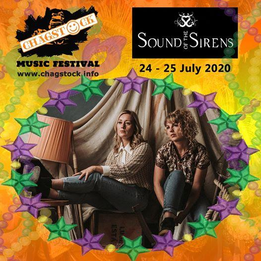 We are delighted to welcome Sound of the Sirens  to Chagstock 2020....