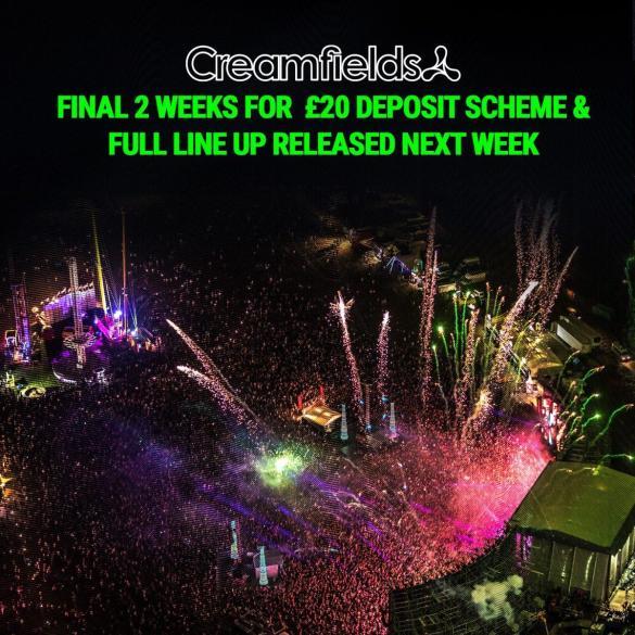 #Creamfields2020 #DontMissOut...