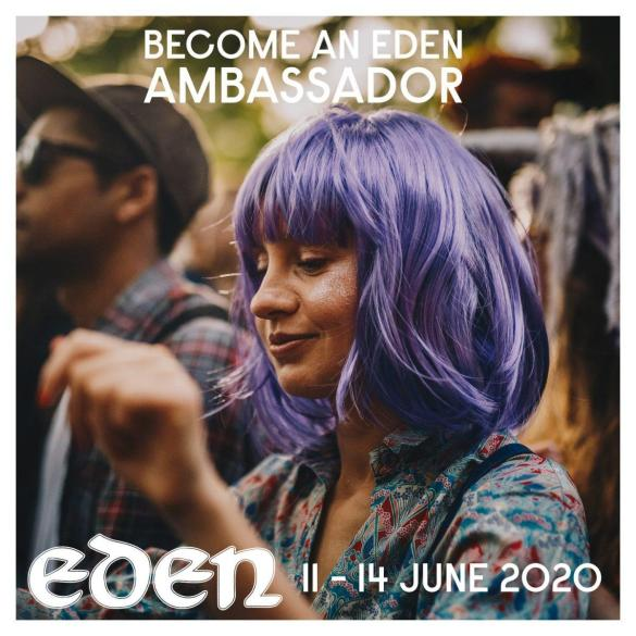 Become an Eden Ambassador and get yourself a free ticket as well as free food fr...