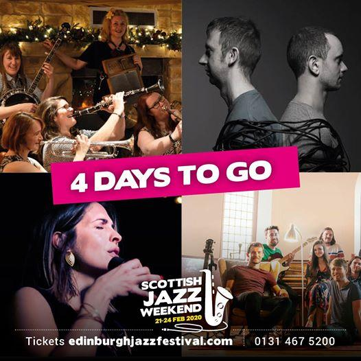Not long until the Auld Reekie comes alive with Jazz again!...