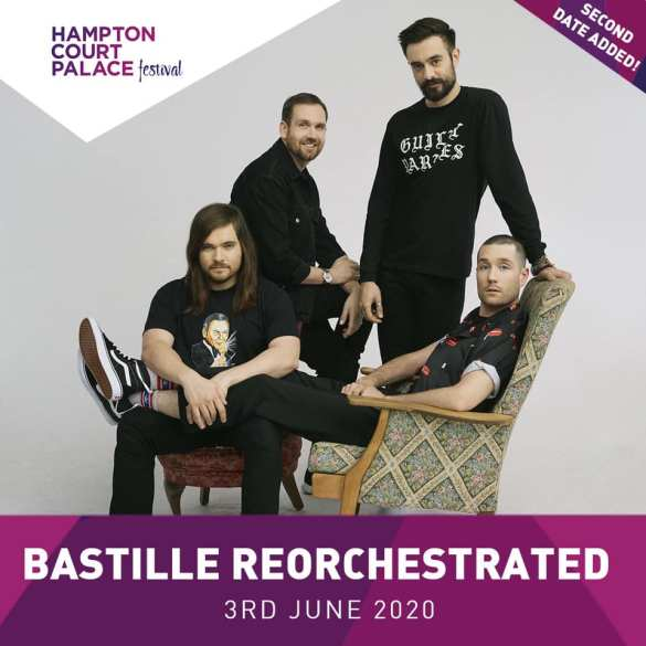 Tickets for our second Bastille ReOrchestrated show on 3rd June, are now on sale...