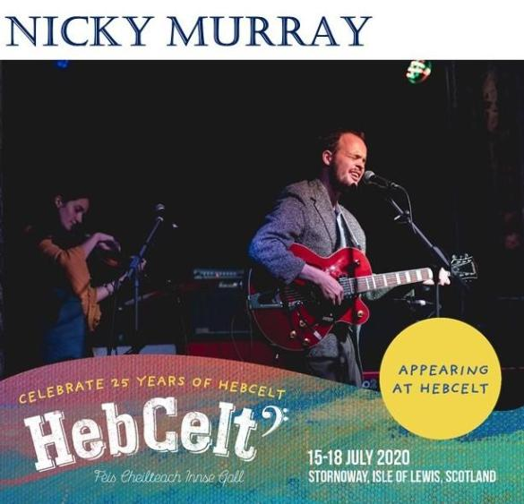 Proudly announcing Nicky Murray to this year's line up!...