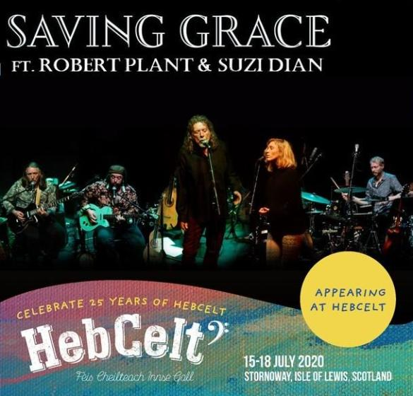 Proudly announcing Saving Grace featuring Robert Plant & Suzi Dian to this y...