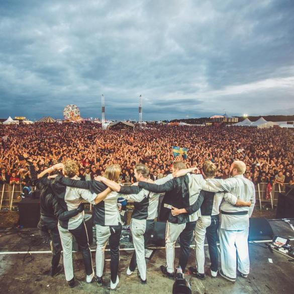 Throwback to when The Hives smashed the living daylights out of Y Not 2016, what...