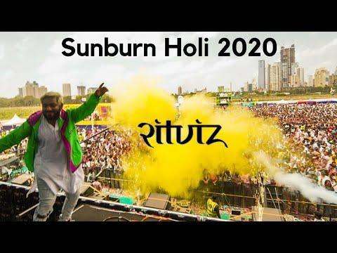 FESTIVAL HIGHLIGHTS: SUNBURN HOLI FESTIVAL – LIVE @RITVIZ  MUMBAI 2020 