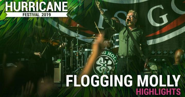 FESTIVAL HIGHLIGHTS: Flogging Molly – Hurricane Festival 2019 (Highlights)