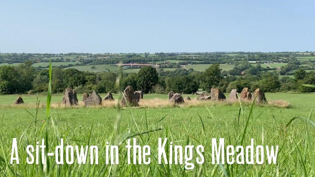A sit-down in the Kings Meadow