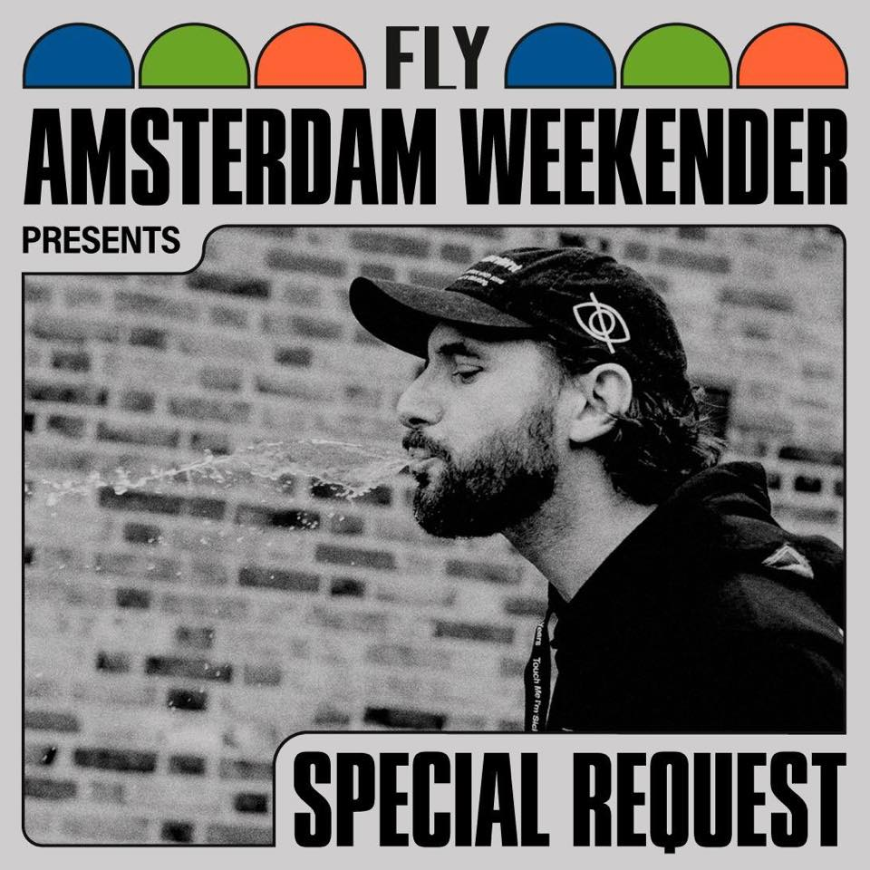 SPECIAL REQUEST aka PAUL WOOLFORD joins us in the dam...