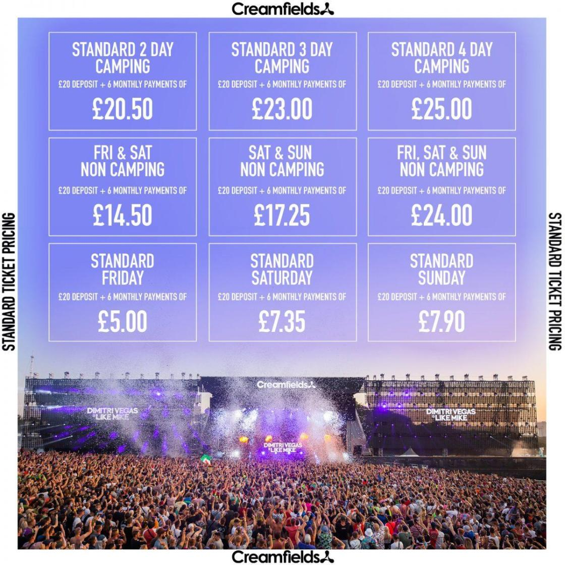 #Creamfields2021 is our most affordable Creamfields in history! Book your ticket...