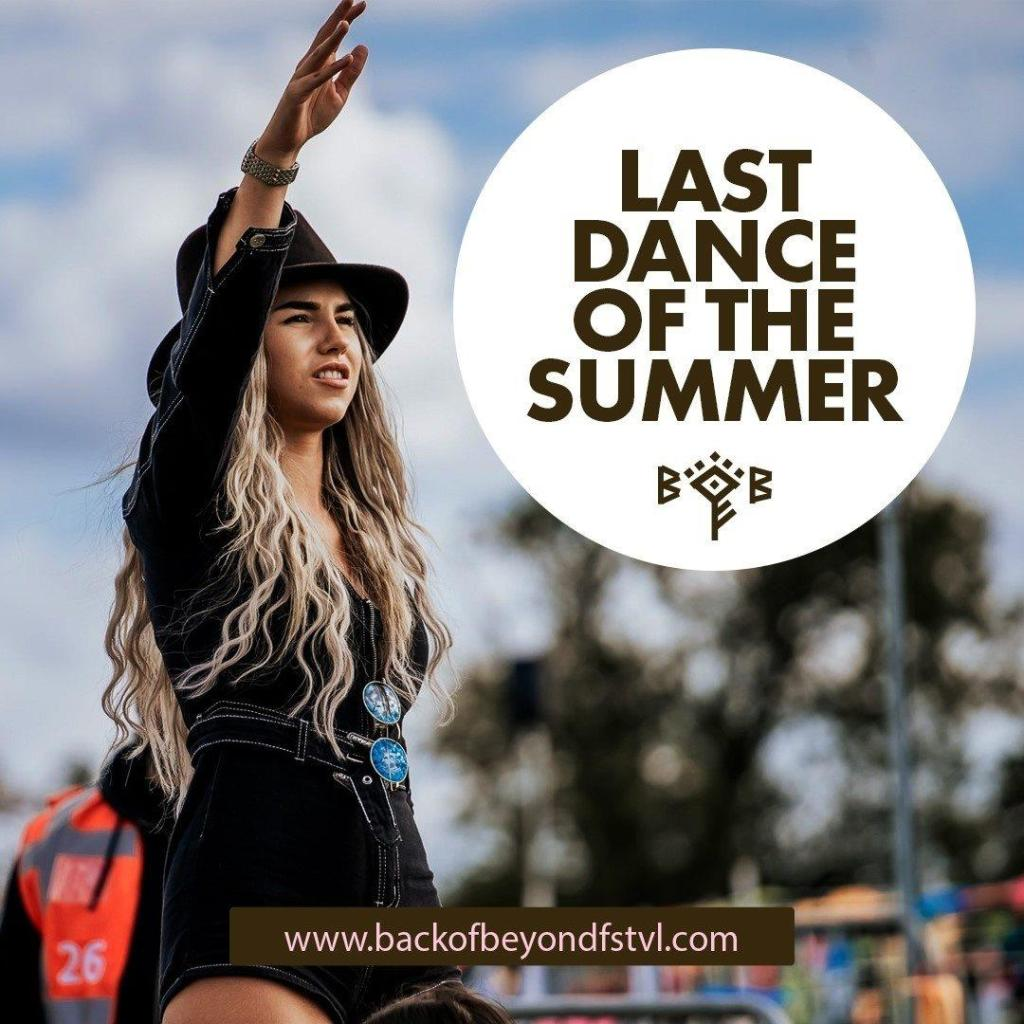 Don't miss the last dance of the summer!  FINAL chance to grab tickets!...