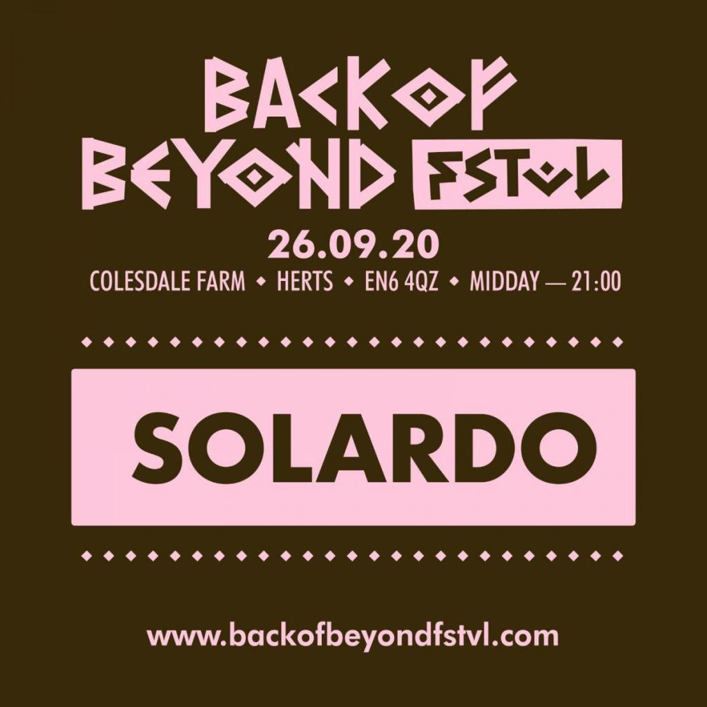 We are delighted to announce our Phase 1 headliner for #backofbeyond…...