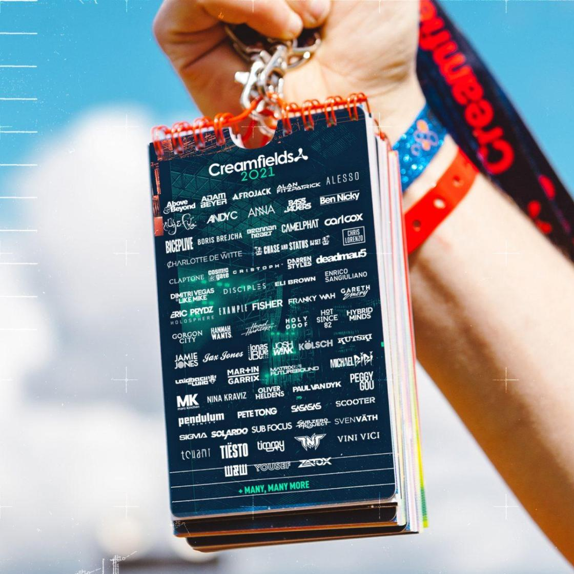 When you flick through your lanyard with this MASSIVE lineup!  Secure your ticke...