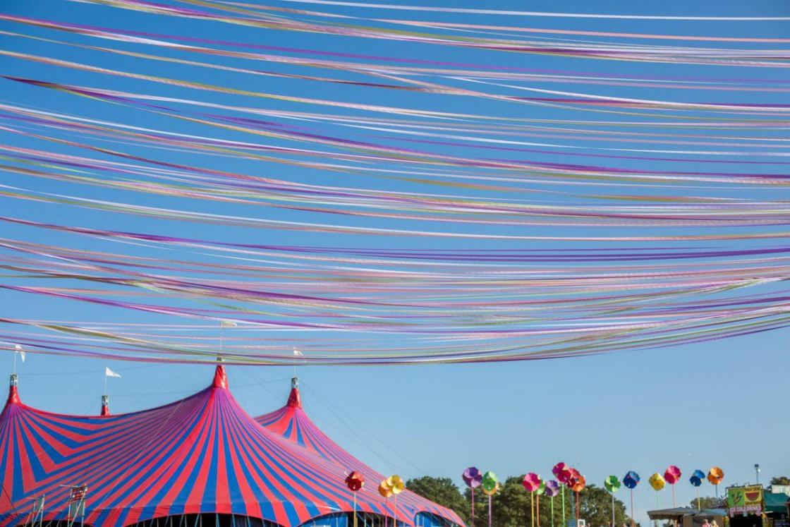 A world of colour at Latitude!...
