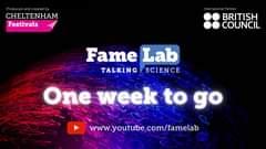 The FameLab International Final is just 1️⃣ week away. This year f...