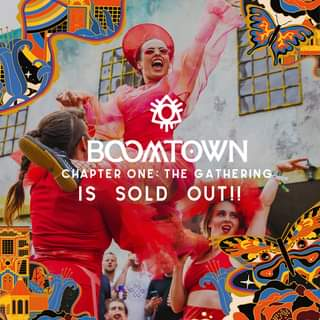 "May be an image of 4 people and text that says ""hmm BCOMTOWN CHAPTER ONE: THE GATHERING. IS SOLD OUT!!"""