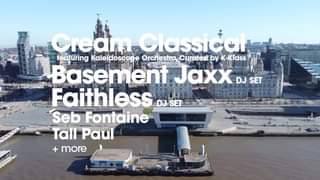 Cream Classical on the Waterfront at Liverpool's Pier Head featuring Basement Ja...