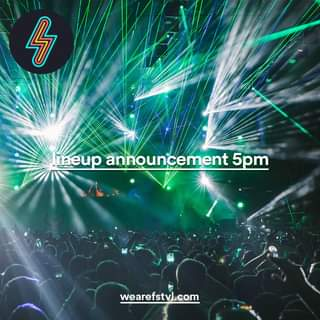 "May be an image of ‎text that says ""‎ک ineup announcement 5pm wearefstvl.com‎""‎"