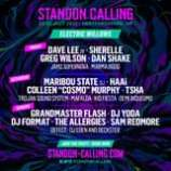 """May be an image of text that says """"STANDON CALLING 22-25 JULY 2021 HERTFORDSHIRE. UK ELECTRIC WILLOWS FRIDAY DAVE LEE ZR SHERELLE GREG WILSON DAN SHAKE JAMZ SUPERNOVA MARMA BOOG SATURDAY MARIBOU STATE DJ HAAI COLLEEN """"COSMO"""" MURPHY TSHA TROJAN SOUND SYSTEM MAFALDA KID FIESTA DEMI RIQUISIMO SUNDAY GRANDMASTER FLASH DJ YODA DJ FORMAT .THE ALLERGIES SAM REDMORE DEFECT DJ EDEN AND DECKSTER JOIN THE JINTHPARTY:BOKNOW PARTY NOW STANDON-CALLING.COM STANDON /STANDONCALLING"""""""