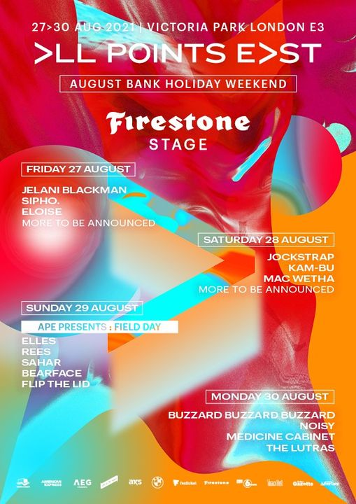 We're so happy to have the Firestone Stage returning to All Points East. Since 2018, The Firestone ...